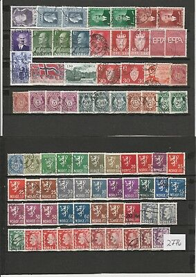 Briefmarkenlot  Norwegen  O   siehe Scan  /   / Lot 2776