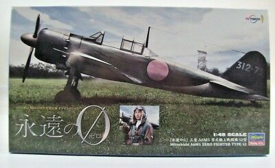 Hasegawa 1:48 Mitsubishi A6M5 Zero Fighter Type 52 TV TOKYO Limited SP326 OVP