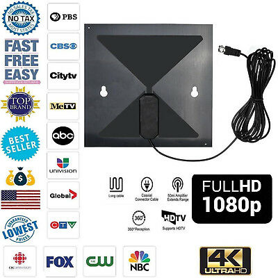 HD Antenna EZ Digital TV Fox HDTV Bandit Cable New Free Skywire Easy Channels