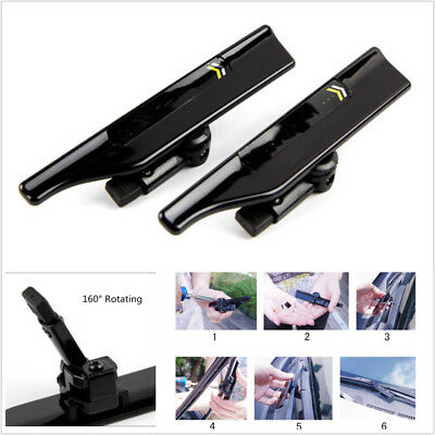 Universal Auto Car Wiper Stand Windshield Wiper Wing Blade Spoiler Accessories