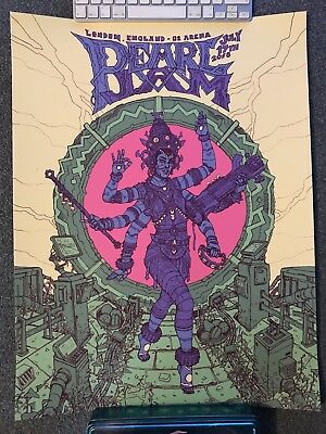 Pearl Jam poster London 17th July 2018