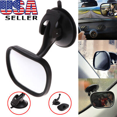 Car Back Seat Baby Mirror Adjustable Safety Suction Mirror For Infant Child
