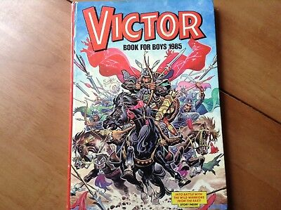 Victor Comic Book for boys  1985 collectors item