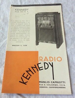 libretto Radio Kennedy