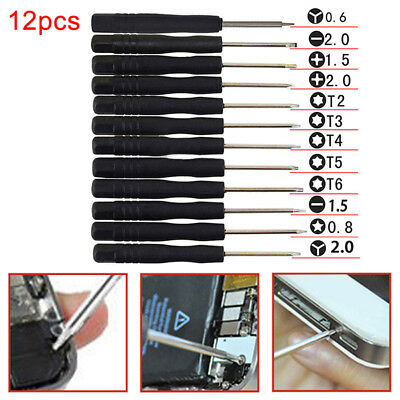 12Pcs Set Mini Multi-Function Magnetic Precision Screwdriver for Phone Tablet PC