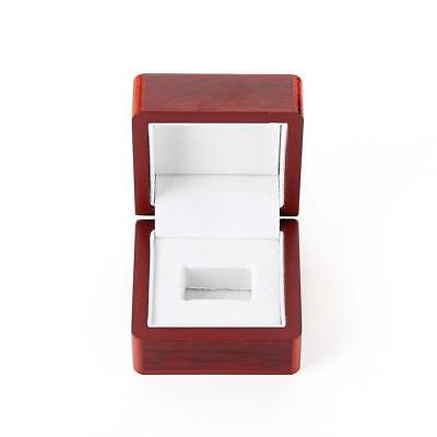 1 Slot Luxury Wooden Box Case Sport Cup Championship Single Ring Display Box