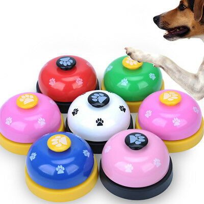 Pet Dogs Cats Training Bell Meal Feeding Call Bells Trainer Potty Training Toys