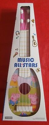 Peppa Pig Children's Girls Toy Guitar Ukulele Party Gift