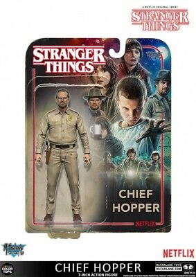 Stranger Things Actionfigur Chief Hopper 18 cm