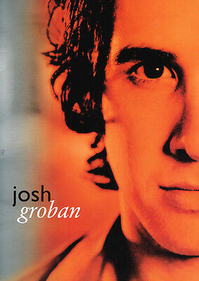 Josh Groban 2004 The Closer Tour Concert Program Book