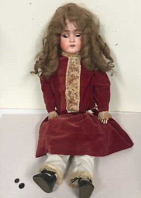 Antique Viola Doll Made in Germany signed on neck
