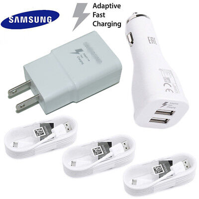Original Samsung Galaxy Note 8 S9 S8 Plus Adaptive Fast Car Charger Type-C Cable