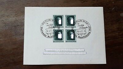 Stamps Germany Reich Postal History Nice Lot Ci/00024