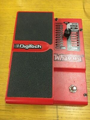 DigiTech Whammy Guitar Pedal: Version 4 - NOT TESTED AS NO CHARGER