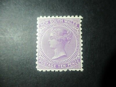 NSW Stamps: 10d Lilac Mint   (q90)