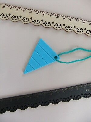 1 Tatting Picot Gauge Spacer Measurement *NEW* Making Lace from ECO Aqua Blue !