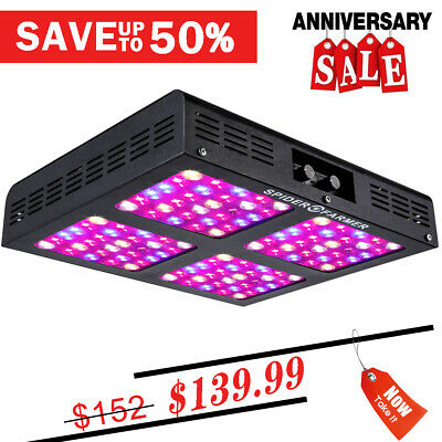 MEIZHI 900W LED Grow Lights Full Spectrum Hydroponic Indoor