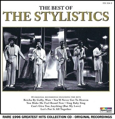 The Stylistics - Very Best Greatest Hits Collection - RARE CD - 70's Soul Pop