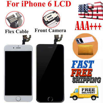 A1549 A1586 For iPhone6 Front LCD Replacement Screen Digitizer Assembly+Button