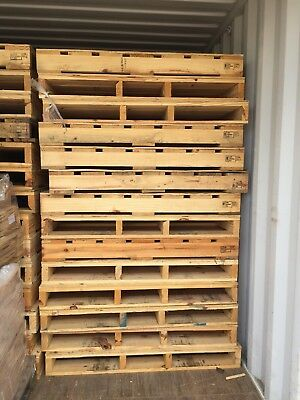 10 X Large Heat Treated timber pallets Used Once