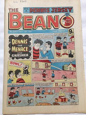DC Thompson THE BEANO Comic. Issue 2047 October 10th 1981 **Free UK Postage**