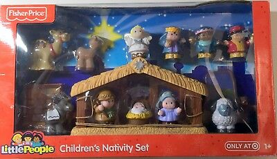 Fisher-Price Little People Children's Nativity Set (Target Promo) New in Box