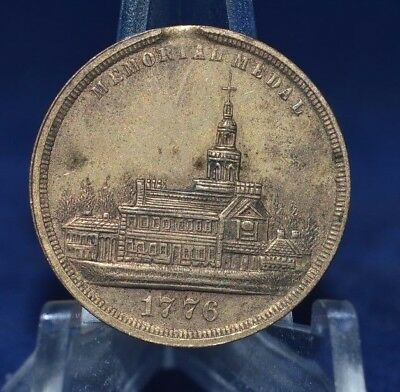1876 Memorial Medal struck within the International Exhibition