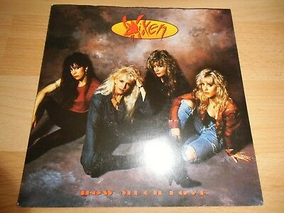 Vixen - How Much Love *MINT* TOP HARDROCK/METAL 7""