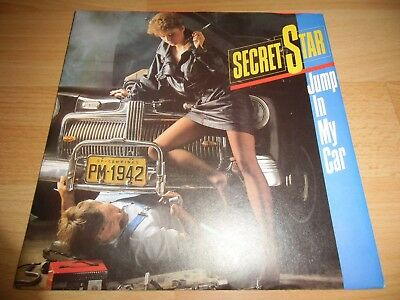 Secret Star/Dieter Bohlen - Jump In My Car *SEHR GUT* TOP ITALO DISCO/POP 7""