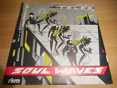 Telex - Soul Waves *SEHR GUT* TOP ITALO DISCO/POP 7""