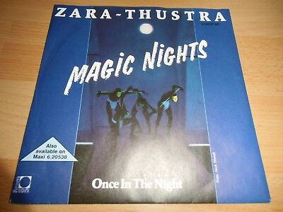 Zara-Thustra - Magic Nights *SEHR GUT* TOP ITALO DISCO/POP 7""