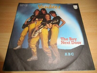 Yankees - The Boy Next Door *SEHR GUT* TOP ITALO DISCO/POP 7""
