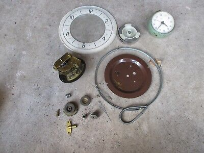 Vintage Old Antique Clock Spares Etc