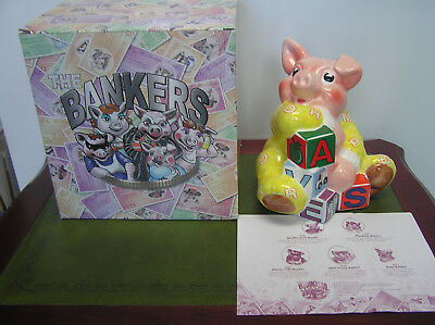 Paul Cardew Baby Banker Money Box New And Boxed.