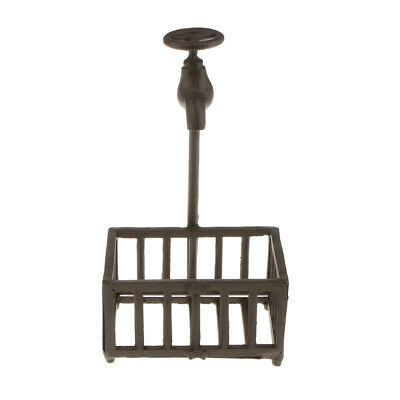 Rustic Iron Tap Shaped Soap Holder Dish Home Farmhouse Hotel Decoration