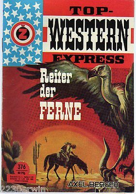 TOP WESTERN EXPRESS 376 / Axel Berger (1962-1975 Indra-Verlag)
