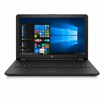 HP Notebook - Intel DualCore 2,6 GHz - 4GB - 128GB SSD - Windows 10 Pro - black