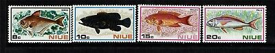 Niue 1973 Fishes SG175/8 MNH