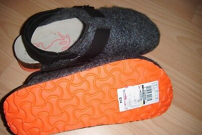 New M/S  Boys Slippers Size Adult 4 Grey with good thick sole.