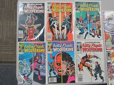Marvel Comics Kitty Pryde and Wolverine #1-6