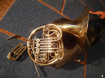 Besson 408 Full Double French Horn