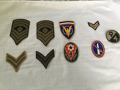 world war 2 uniforn patches