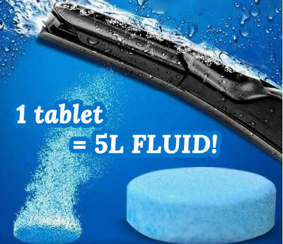 Screen Wash Windscreen Fluid Tablets :: 1 = 5L Ready To Use Fluid