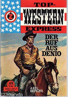 TOP WESTERN EXPRESS 478 / Axel Berger (1962-1975 Indra-Verlag)