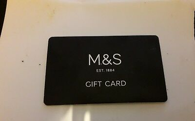 marks and  spencer gift card M&S