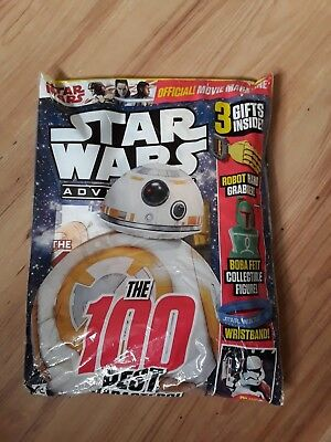 Star Wars Adventures Magazine / Comic With 3 Free Gifts New Sealed