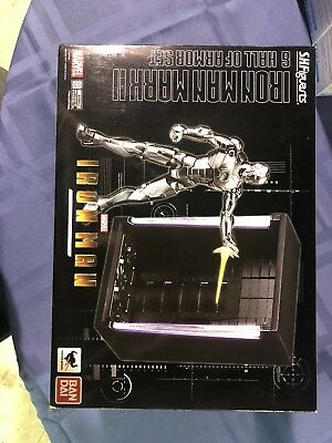 Bandai S.H. Figuarts Iron Man Mark II Mk 2 Hall of Armor