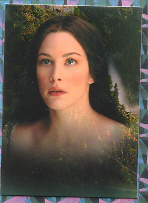 Topps lord of the rings the two towers  UK binder card no 1 of 9 ARWEN