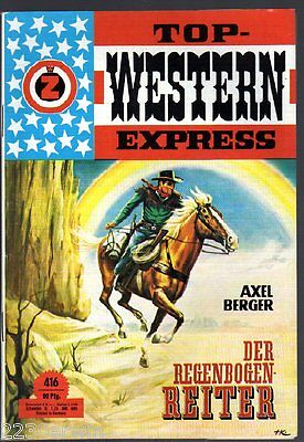 TOP WESTERN EXPRESS 416 / Axel Berger (1962-1975 Indra-Verlag)