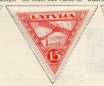 Latvia 1927-28 Early Issue Fine Mint Hinged 15s. 267790